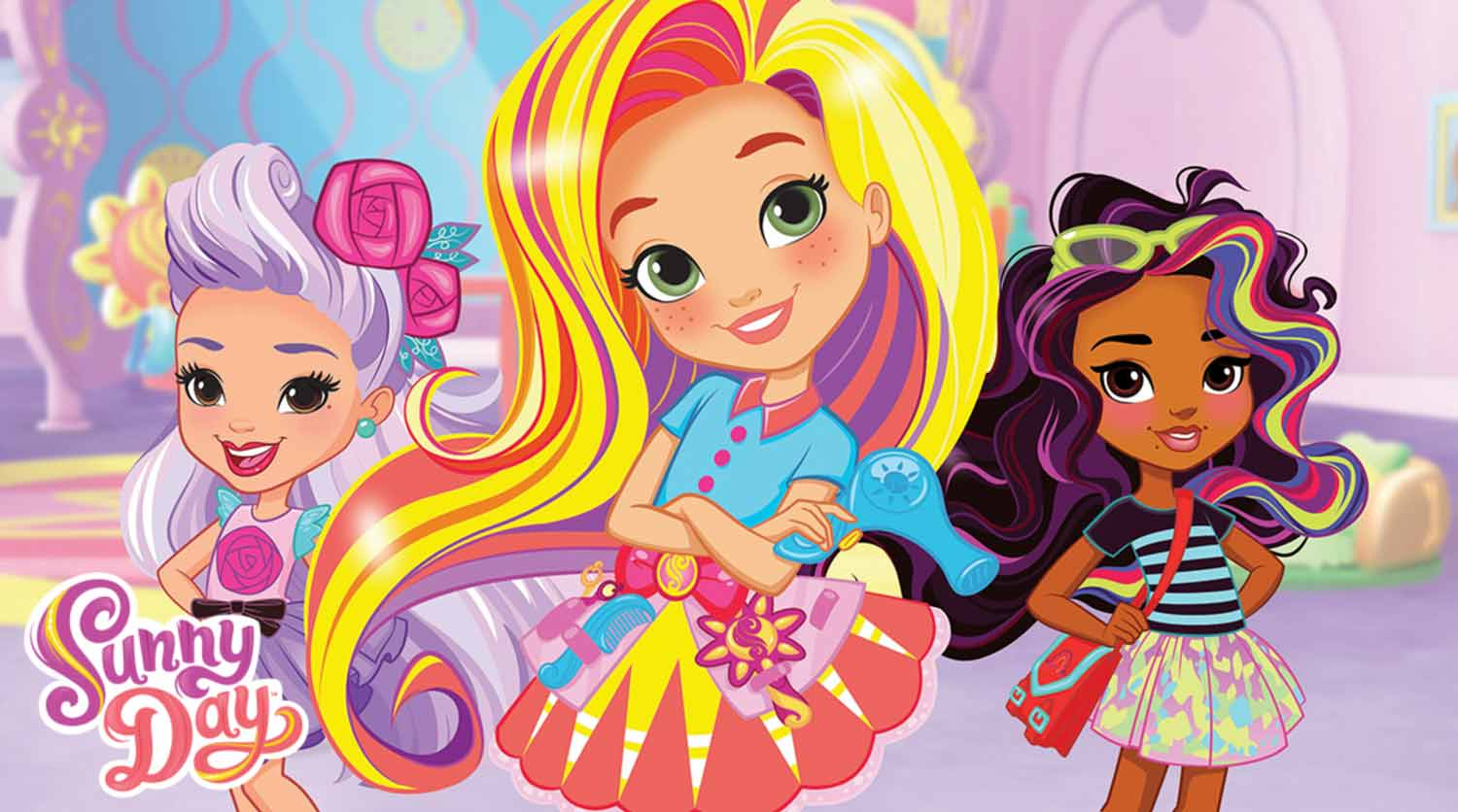 Sunny Day, Sunny, Rox and Blair - produced by Silvergate Media for Nickelodeon